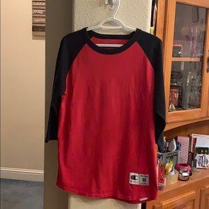 Champion Shirts - Men's  Champion quarter sleeve shirt - Med